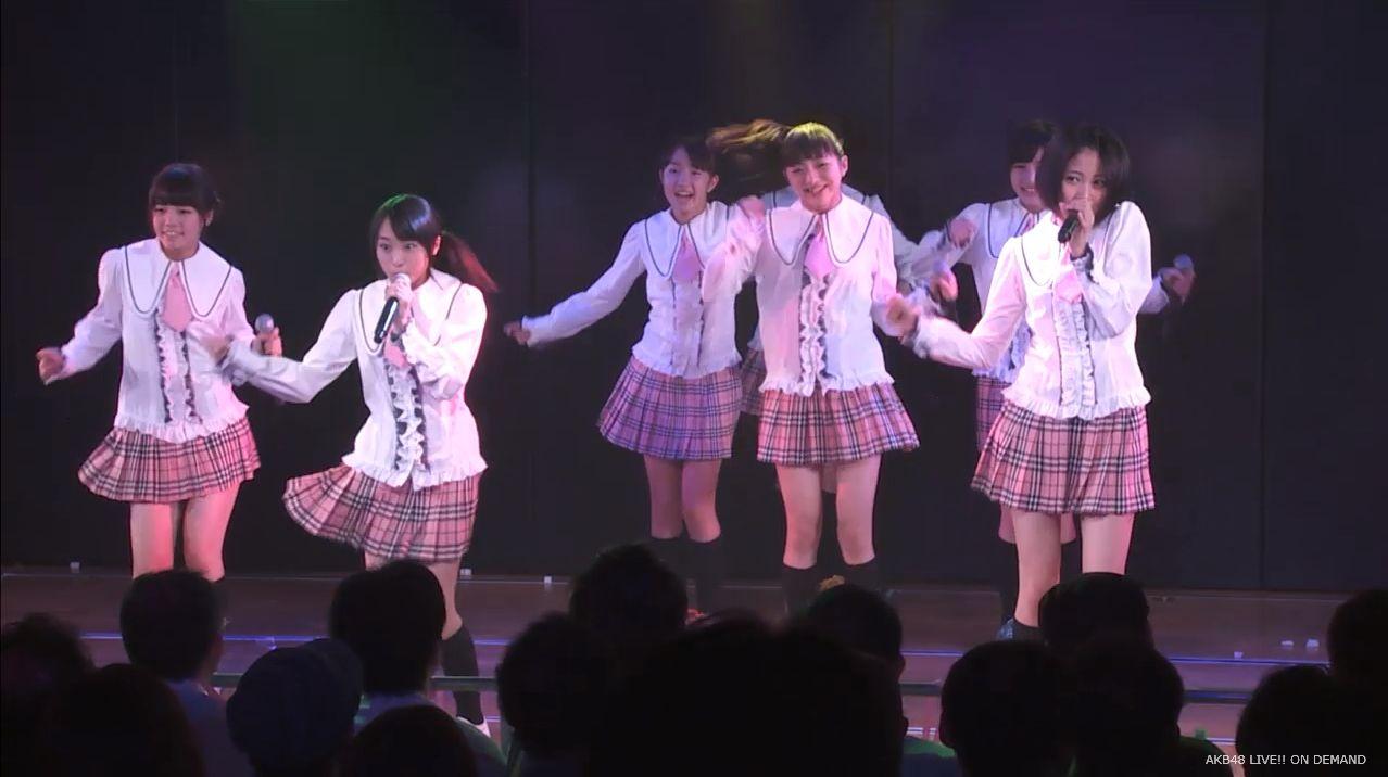 チーム8坂口渚沙 劇場公演デビュー 20140806 (3)