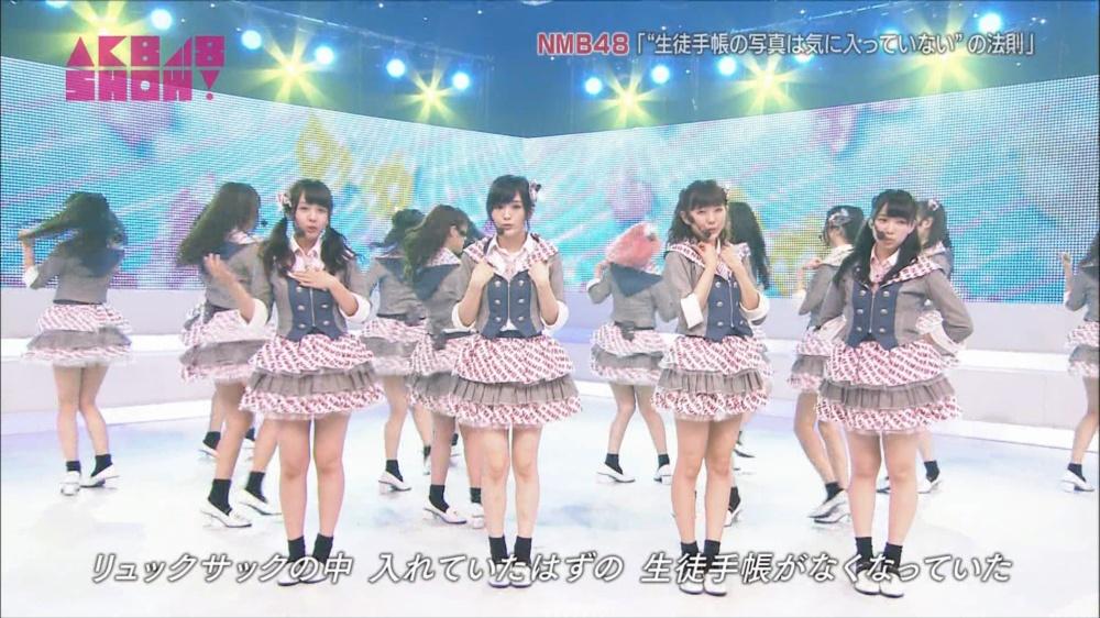 AKB48SHOW NMB48生徒手帳の写真は気に入ってないの法則 20140816 (9)_R
