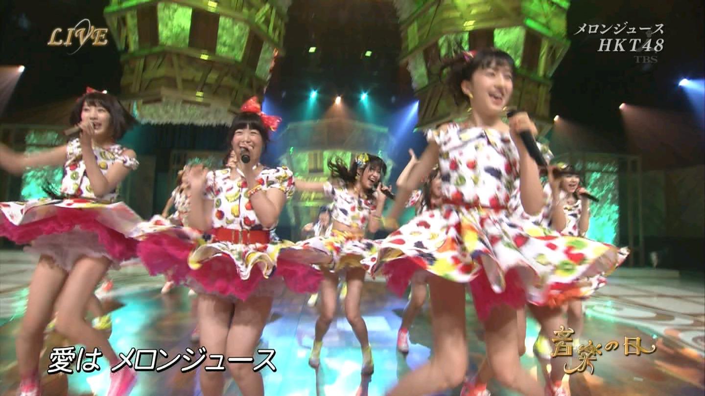 音楽の日 宮脇咲良AKB48 HKT48 20140802 (15)