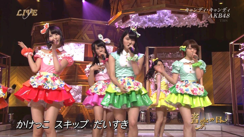 音楽の日 AKB48 キャンディ・キャンディ 20140802 (15)
