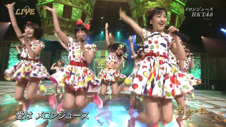 音楽の日 宮脇咲良AKB48 HKT48 20140802 (14)