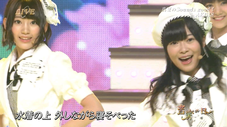 音楽の日 宮脇咲良AKB48 HKT48 20140802 (58)