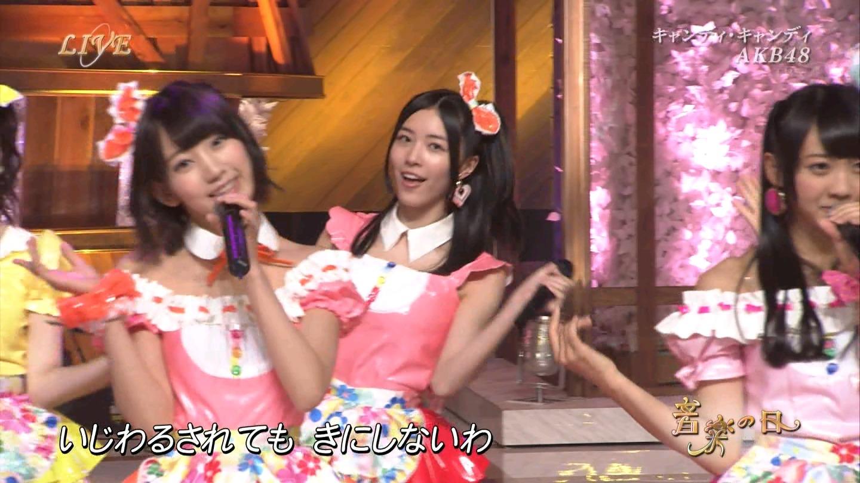 音楽の日 AKB48 キャンディ・キャンディ 20140802 (39)