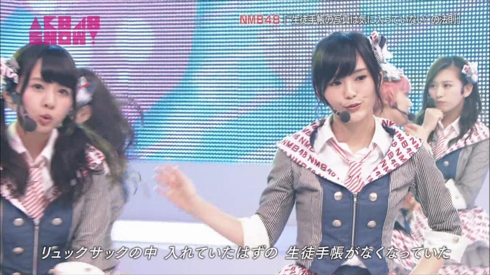 AKB48SHOW NMB48生徒手帳の写真は気に入ってないの法則 20140816 (11)_R