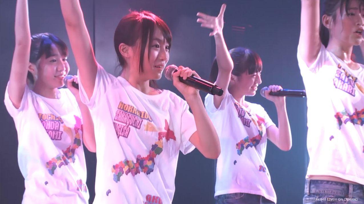 チーム8坂口渚沙 劇場公演デビュー 20140806 (124)