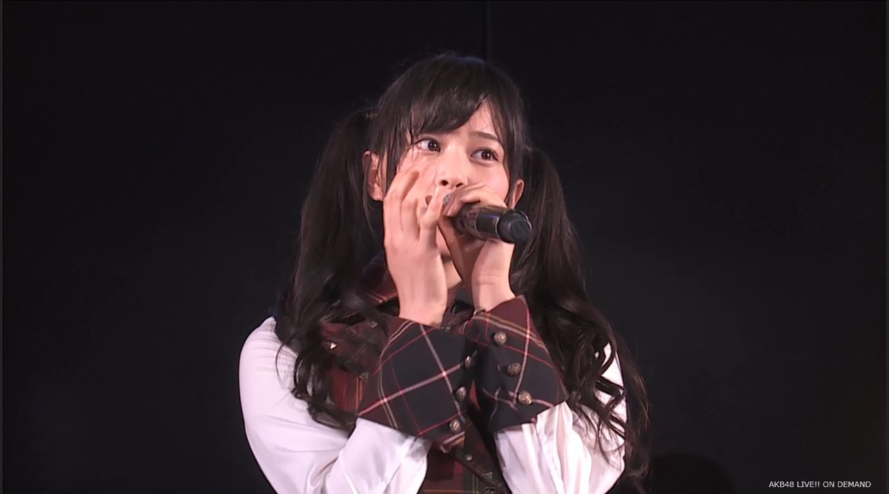 AKB48 チームAツインテール公演 田北香世子 自己紹介&黒い天使 (4)