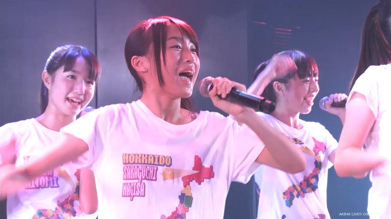 チーム8坂口渚沙 劇場公演デビュー 20140806 (125)