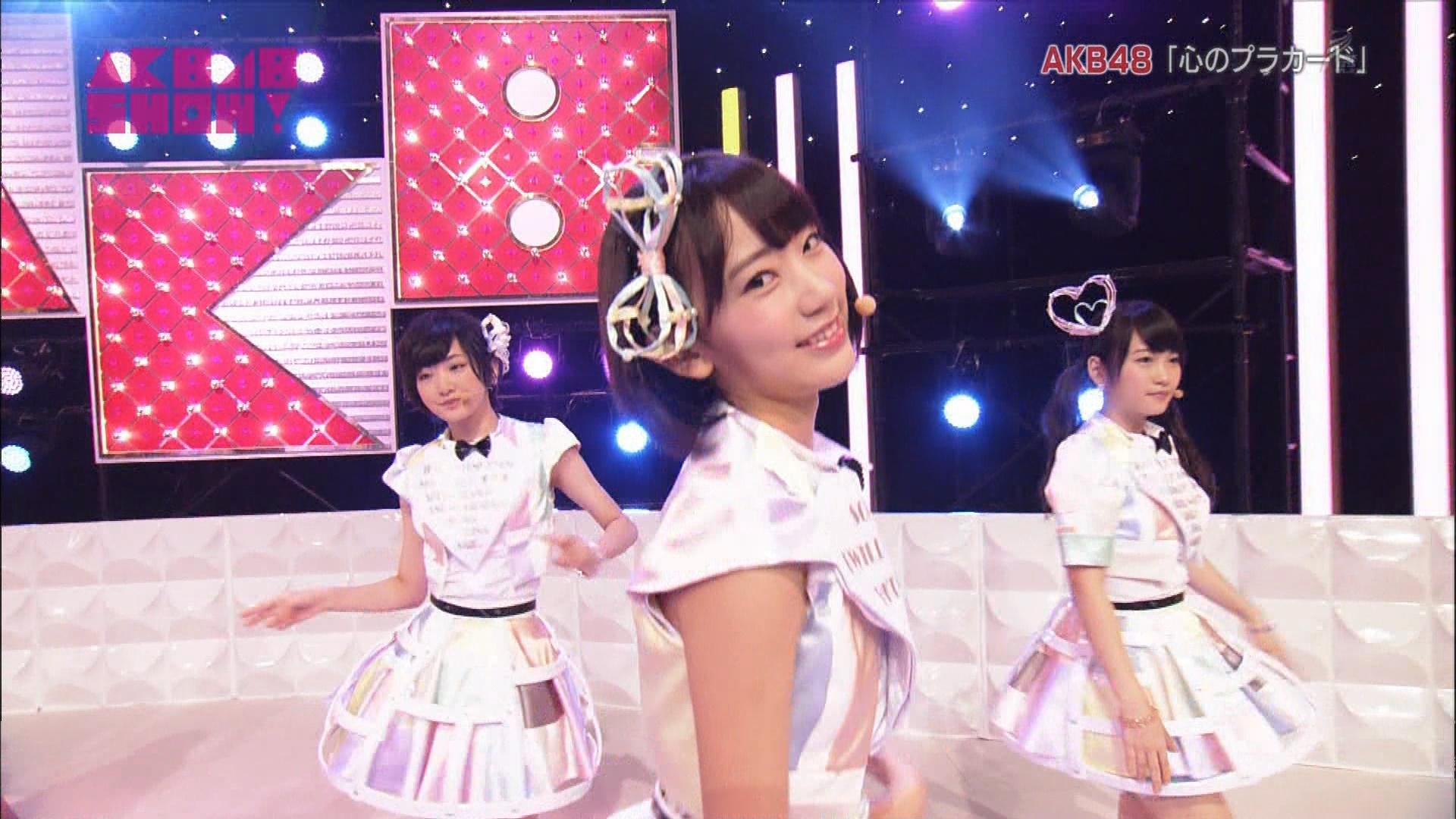 AKB48SHOW 心のプラカード 宮脇咲良 20140830 (17)