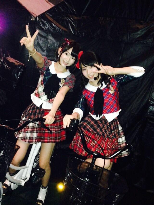 宮脇咲良 AKB48単独コンサート自転車