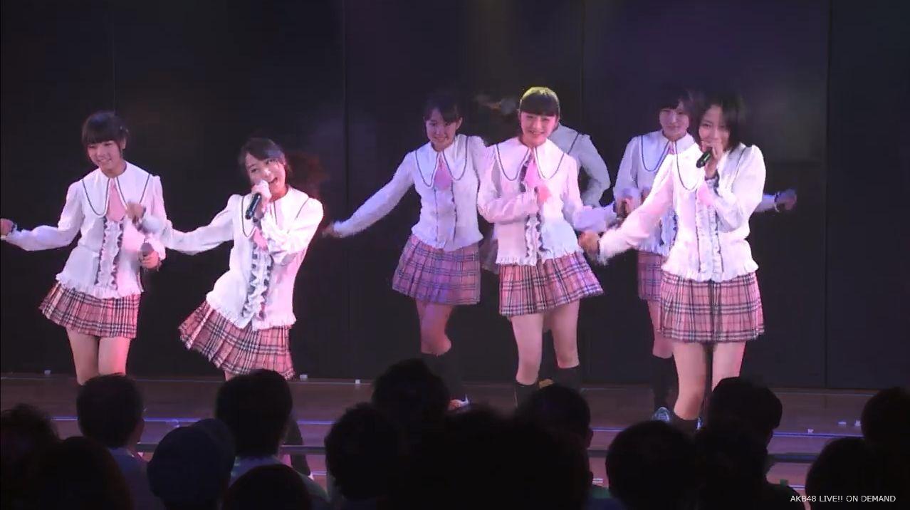 チーム8坂口渚沙 劇場公演デビュー 20140806 (4)