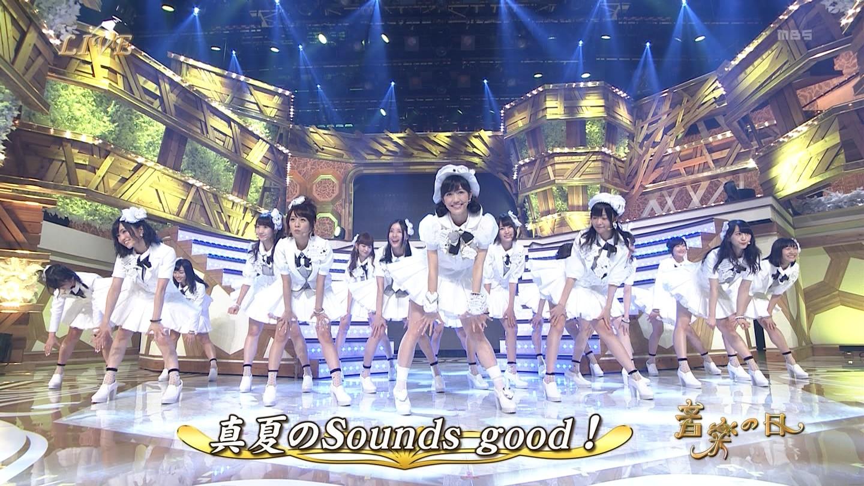 音楽の日 宮脇咲良AKB48 HKT48 20140802 (67)