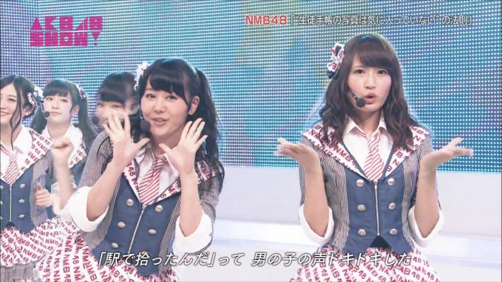 AKB48SHOW NMB48生徒手帳の写真は気に入ってないの法則 20140816 (20)_R