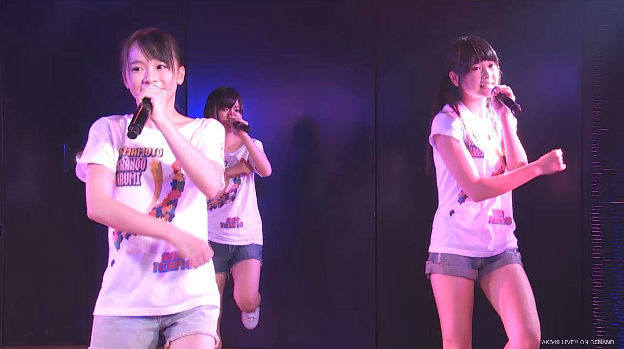 AKB48チーム8 スカートひらり 20140805 (9)