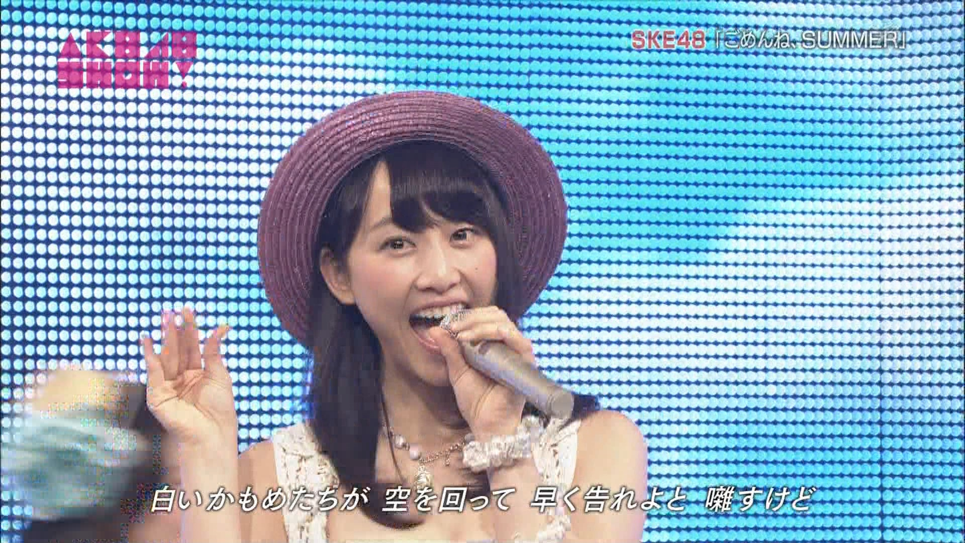 AKB48SHOW ごめんね、SUMMER 松井玲奈 20140830 (11)
