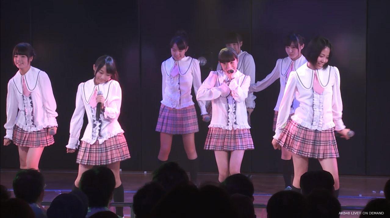 チーム8坂口渚沙 劇場公演デビュー 20140806 (1)