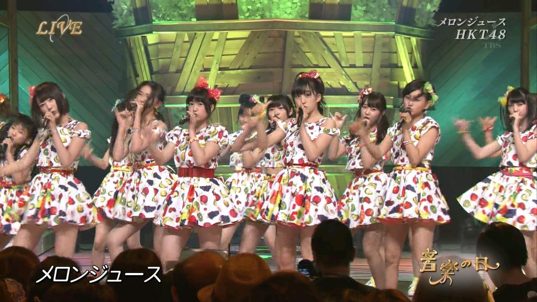 音楽の日 宮脇咲良AKB48 HKT48 20140802 (18)