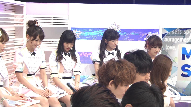 ミュージックステーション AKB48渡辺麻友 心のプラカード 20140829 (10)