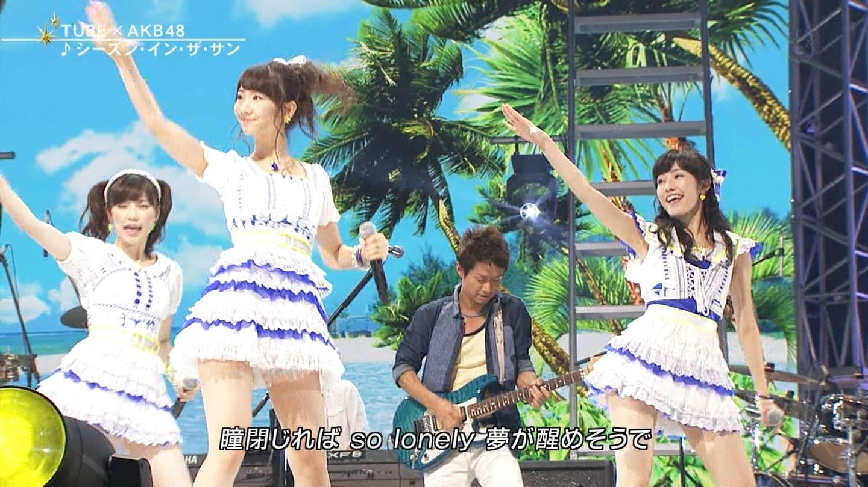 FNS うたの夏まつり2014 渡辺麻友 20140813 (14)
