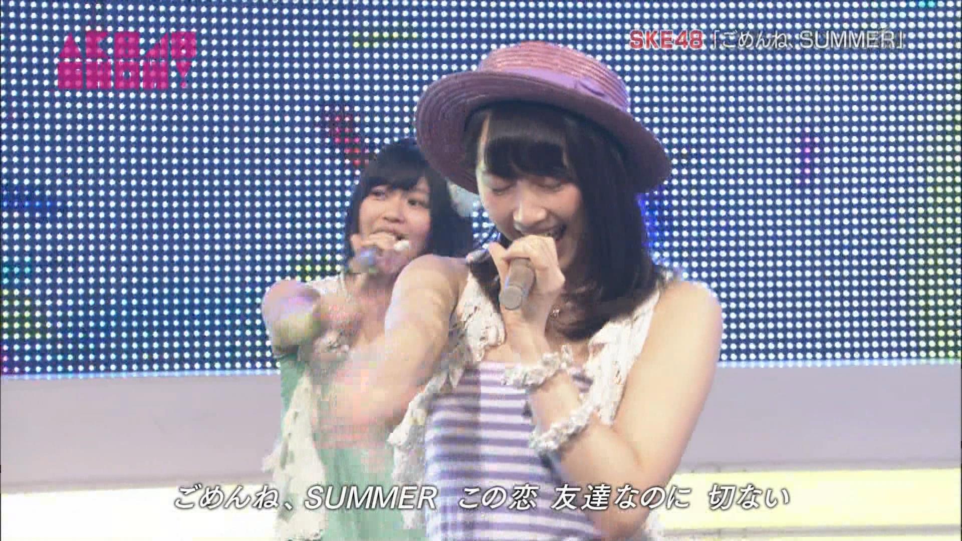 AKB48SHOW ごめんね、SUMMER 松井玲奈 20140830 (10)