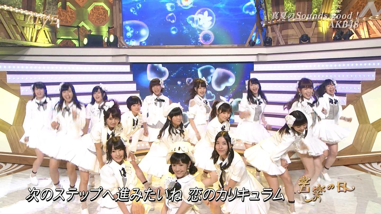 音楽の日 宮脇咲良AKB48 HKT48 20140802 (63)