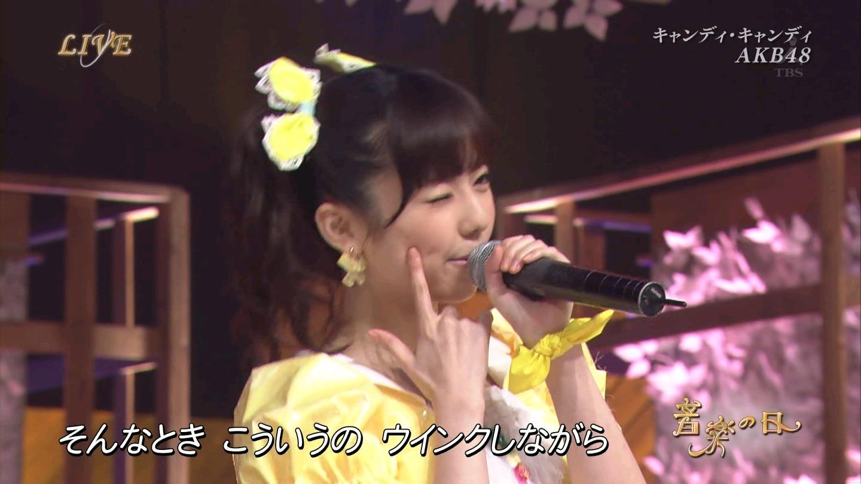 音楽の日 AKB48 キャンディ・キャンディ 20140802 (56)