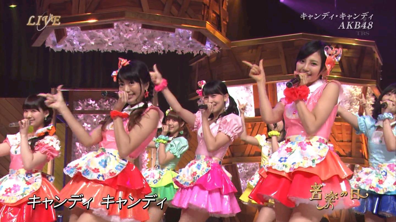 音楽の日 AKB48 キャンディ・キャンディ 20140802 (63)