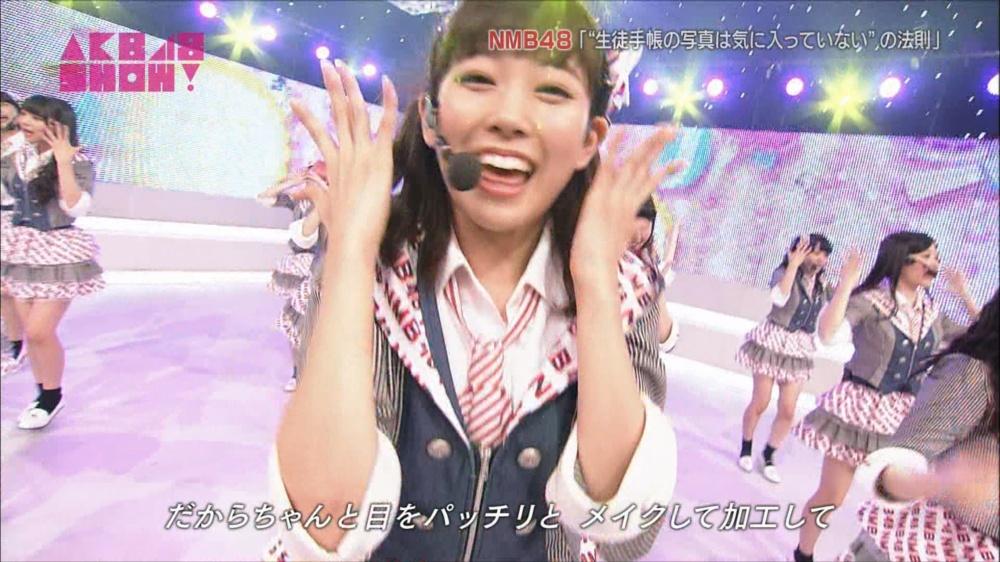 AKB48SHOW NMB48生徒手帳の写真は気に入ってないの法則 20140816 (26)_R