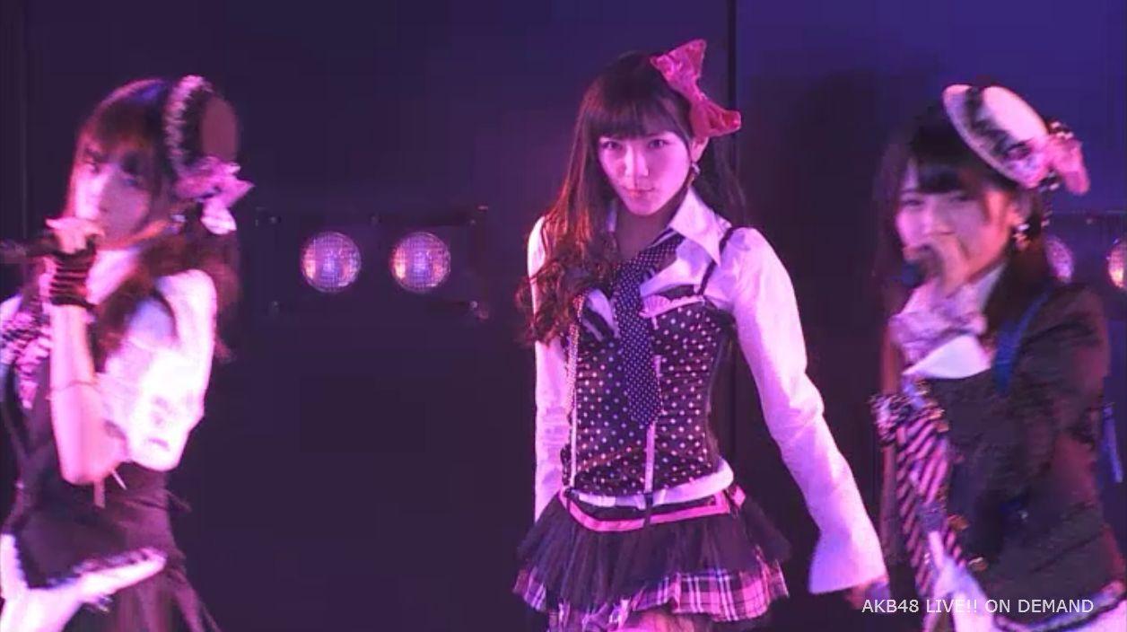 AKB48岡田奈々 口移しのチョコレート (45)