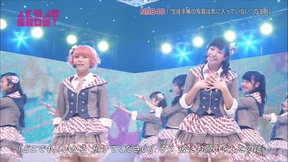 AKB48SHOW NMB48生徒手帳の写真は気に入ってないの法則 20140816 (35)_R