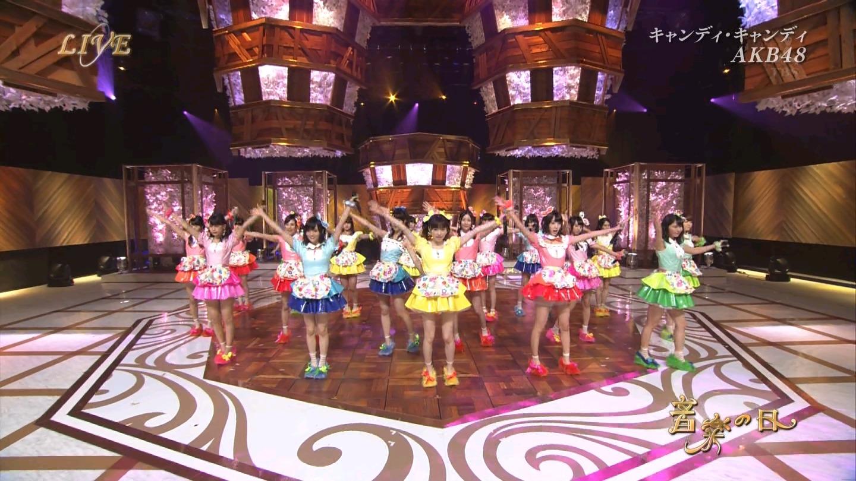 音楽の日 AKB48 キャンディ・キャンディ 20140802 (64)