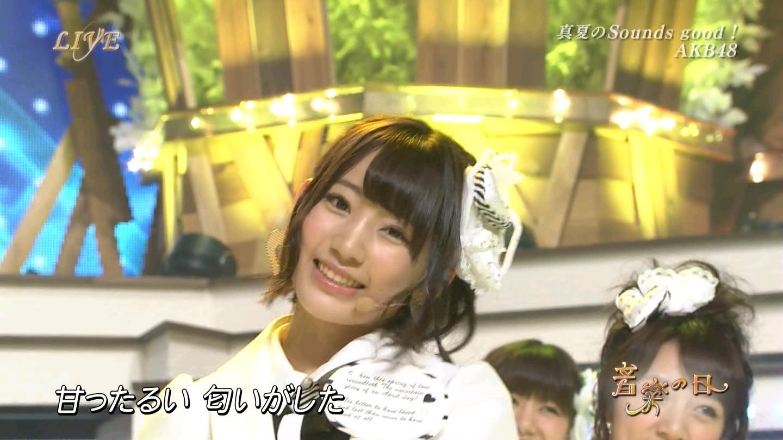 音楽の日 宮脇咲良AKB48 HKT48 20140802 (59)