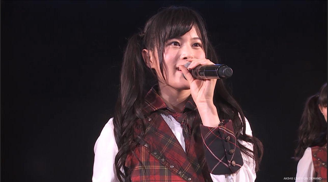 AKB48 チームAツインテール公演 田北香世子 自己紹介&黒い天使 (1)