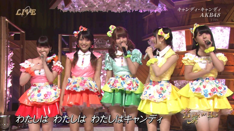 音楽の日 AKB48 キャンディ・キャンディ 20140802 (46)
