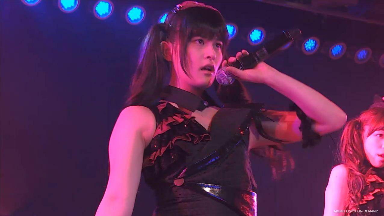 AKB48 チームAツインテール公演 田北香世子 自己紹介&黒い天使 (32)