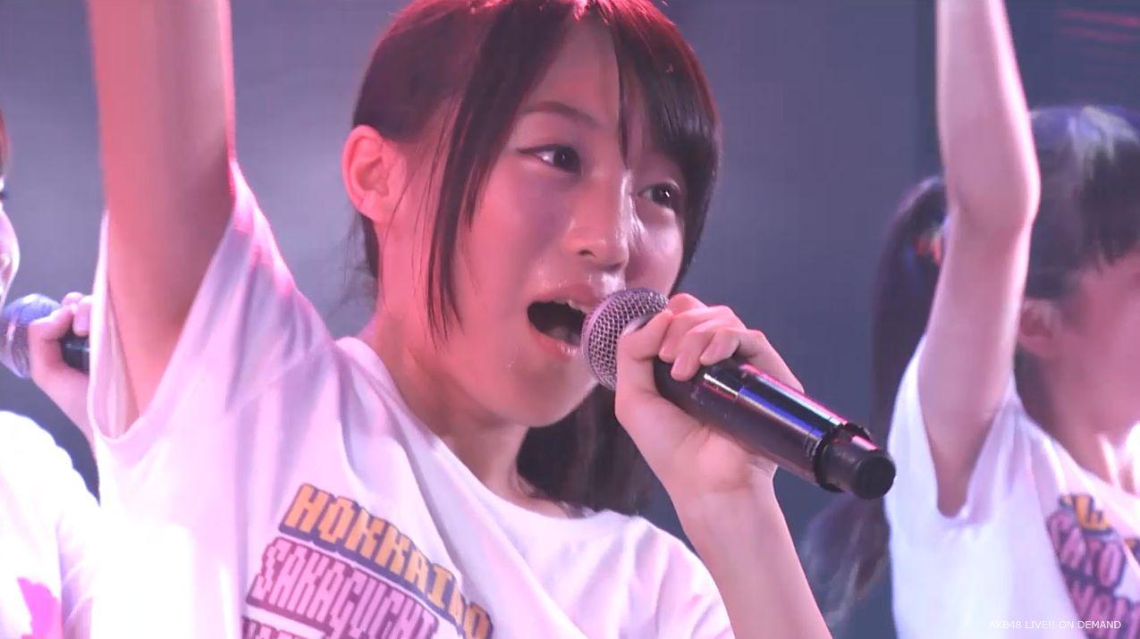 チーム8坂口渚沙 劇場公演デビュー 20140806 (128)