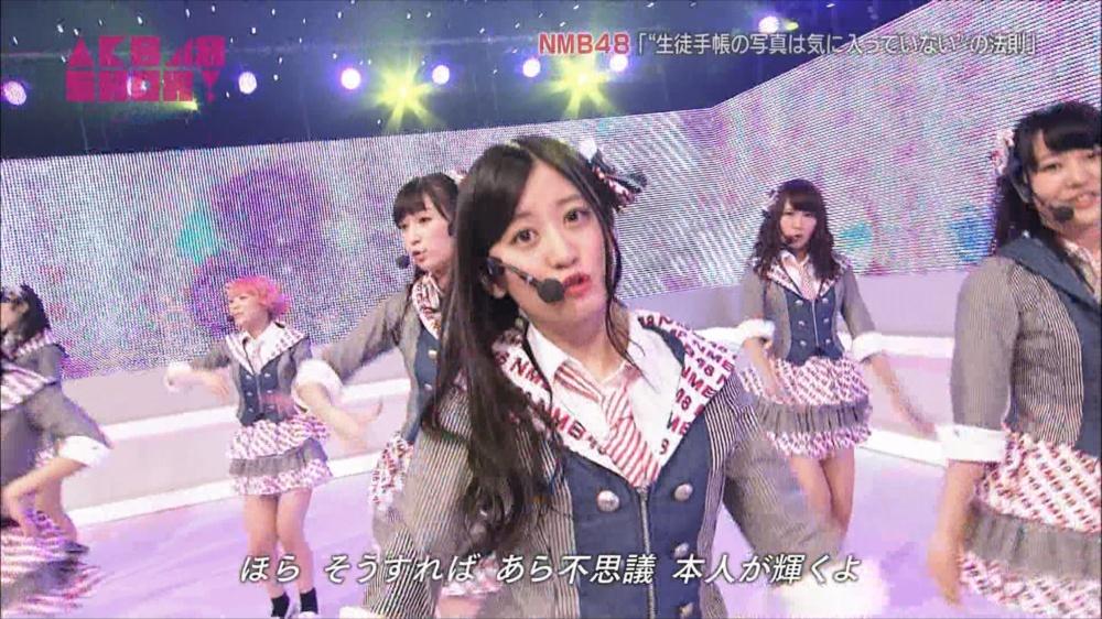 AKB48SHOW NMB48生徒手帳の写真は気に入ってないの法則 20140816 (68)_R