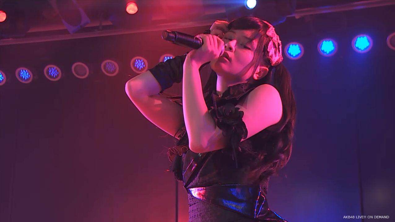AKB48 チームAツインテール公演 田北香世子 自己紹介&黒い天使 (36)
