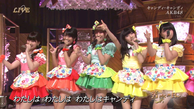 音楽の日 AKB48 キャンディ・キャンディ 20140802 (49)