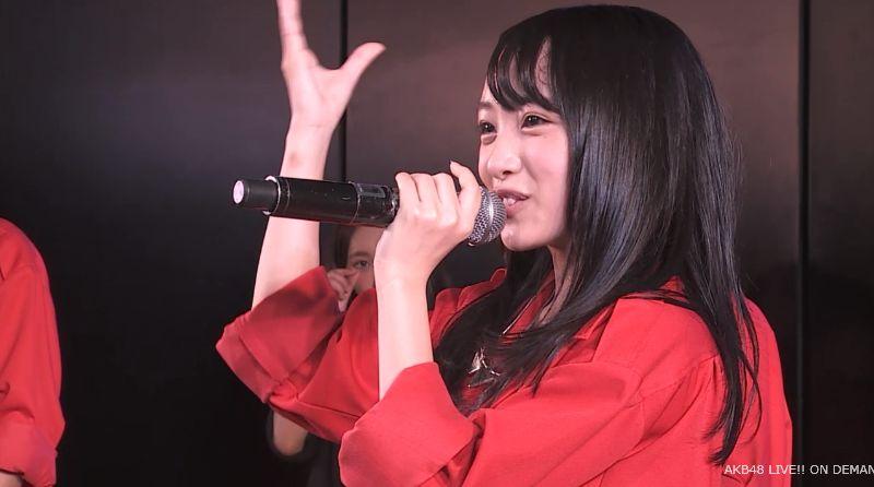 AKB48向井地美音 チーム4公演 自己紹介 20140731 (8)