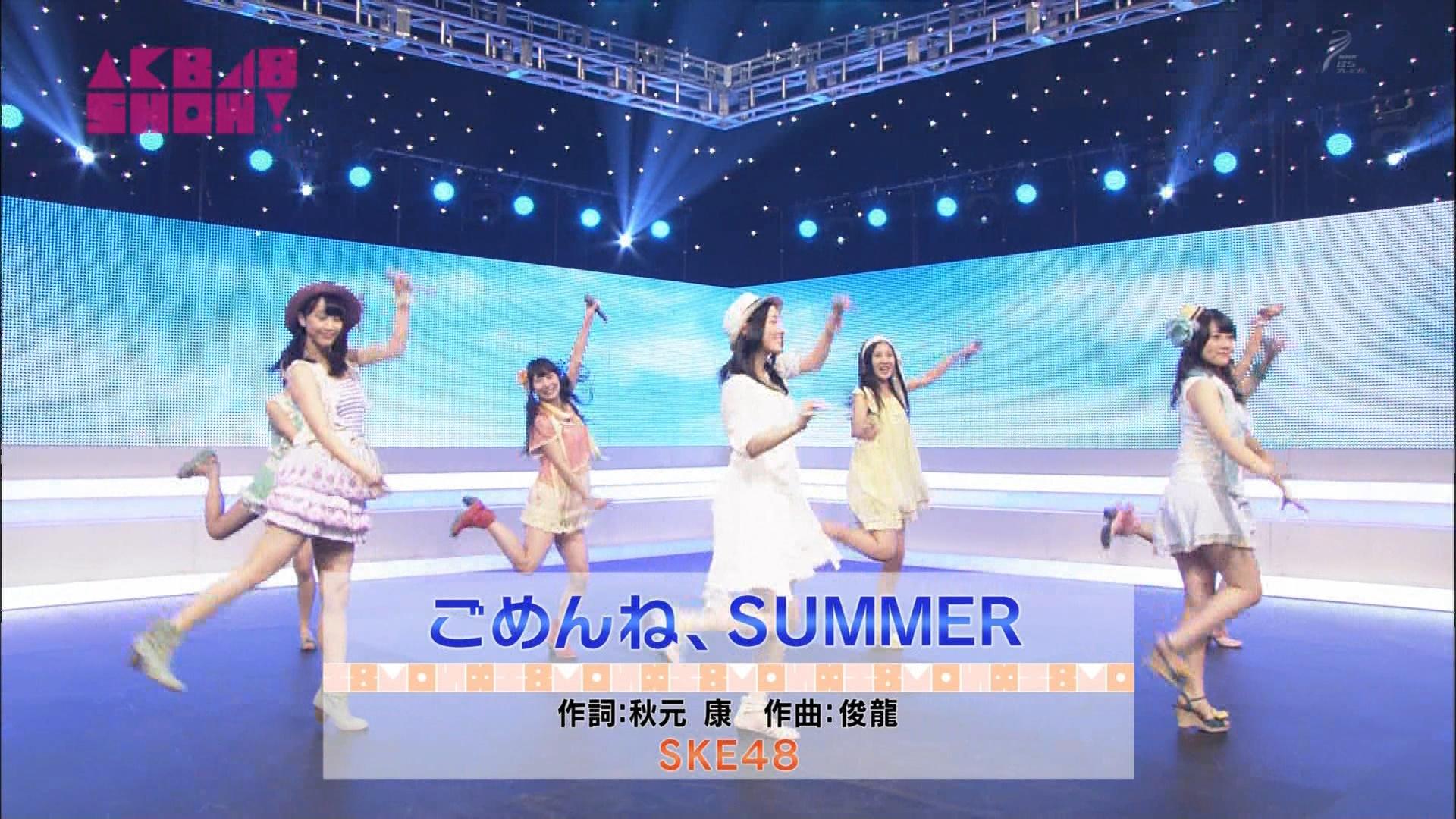 AKB48SHOW ごめんね、SUMMER 松井玲奈 20140830