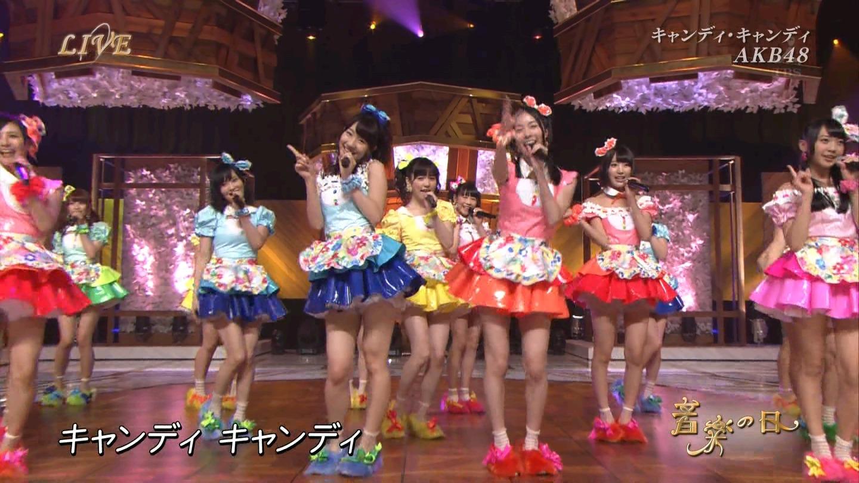 音楽の日 AKB48 キャンディ・キャンディ 20140802 (25)