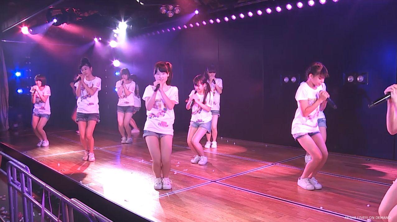 AKB48チーム8 スカートひらり 20140805 (10)