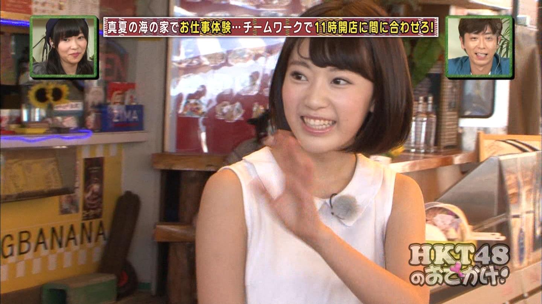 HKT48おでかけ 海の家 宮脇咲良 20140814 (15)