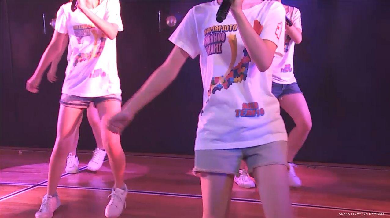 AKB48チーム8 スカートひらり 20140805 (4)