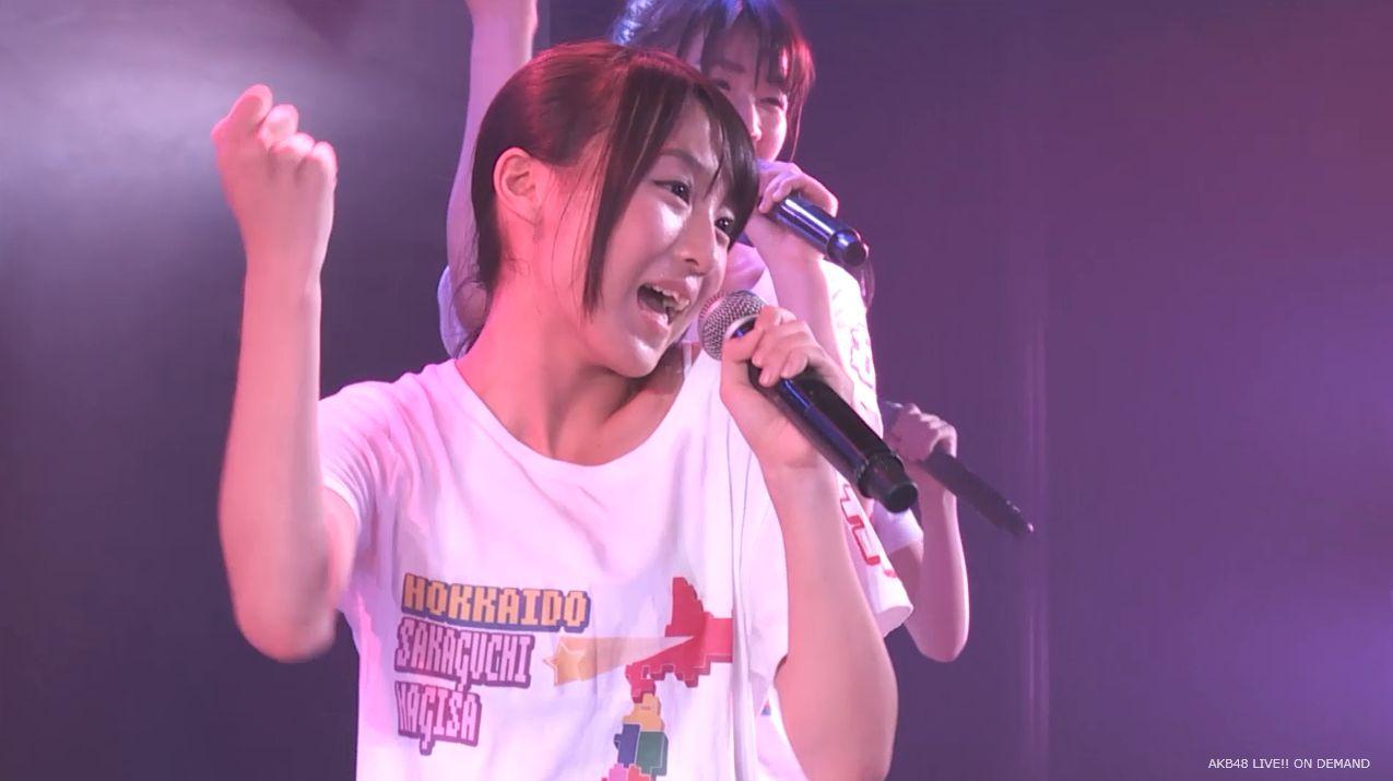 チーム8坂口渚沙 劇場公演デビュー 20140806 (119)
