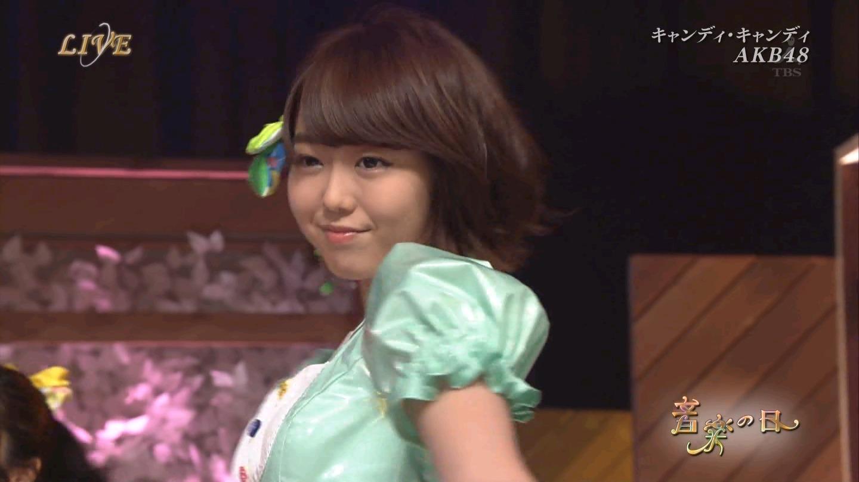 音楽の日 AKB48 キャンディ・キャンディ 20140802 (30)