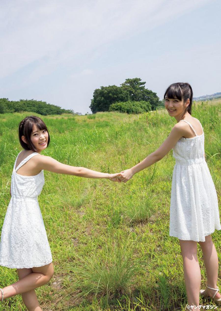 ヤングマガジン 宮脇咲良 松岡菜摘   (3)
