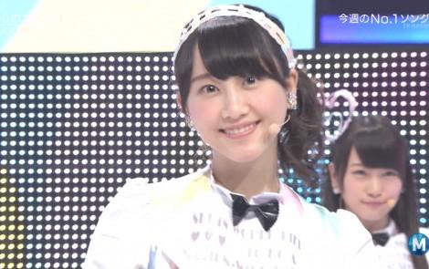 ミュージックステーション AKB48松井玲奈 心のプラカード 20140829 (12)