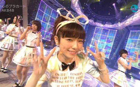 AKB48 心のプラカード MJ 島崎遥香 20140901 (20)