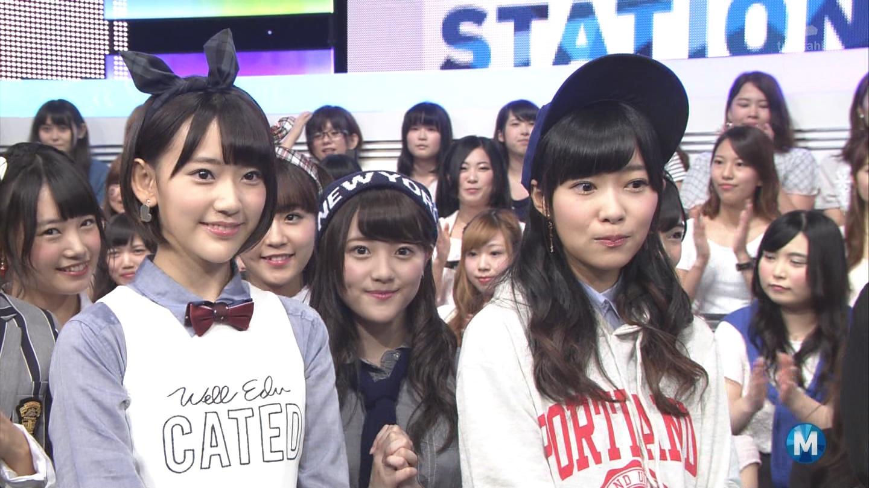 朝長美桜 ミュージックステーション 控えめI love you 20140905 (2)